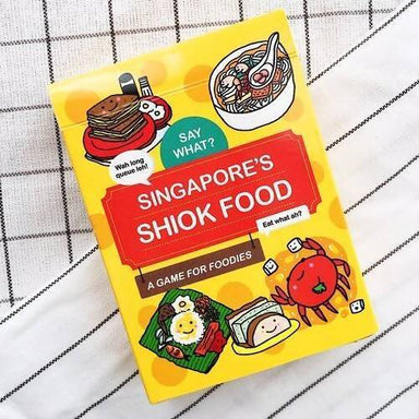 Singapore's Super Shiok Food Playing Cards Local Card Games SayWhat?