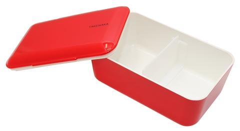 Single Layer Expanded Bento Lunch Box - Red Lunch Boxes Takenaka