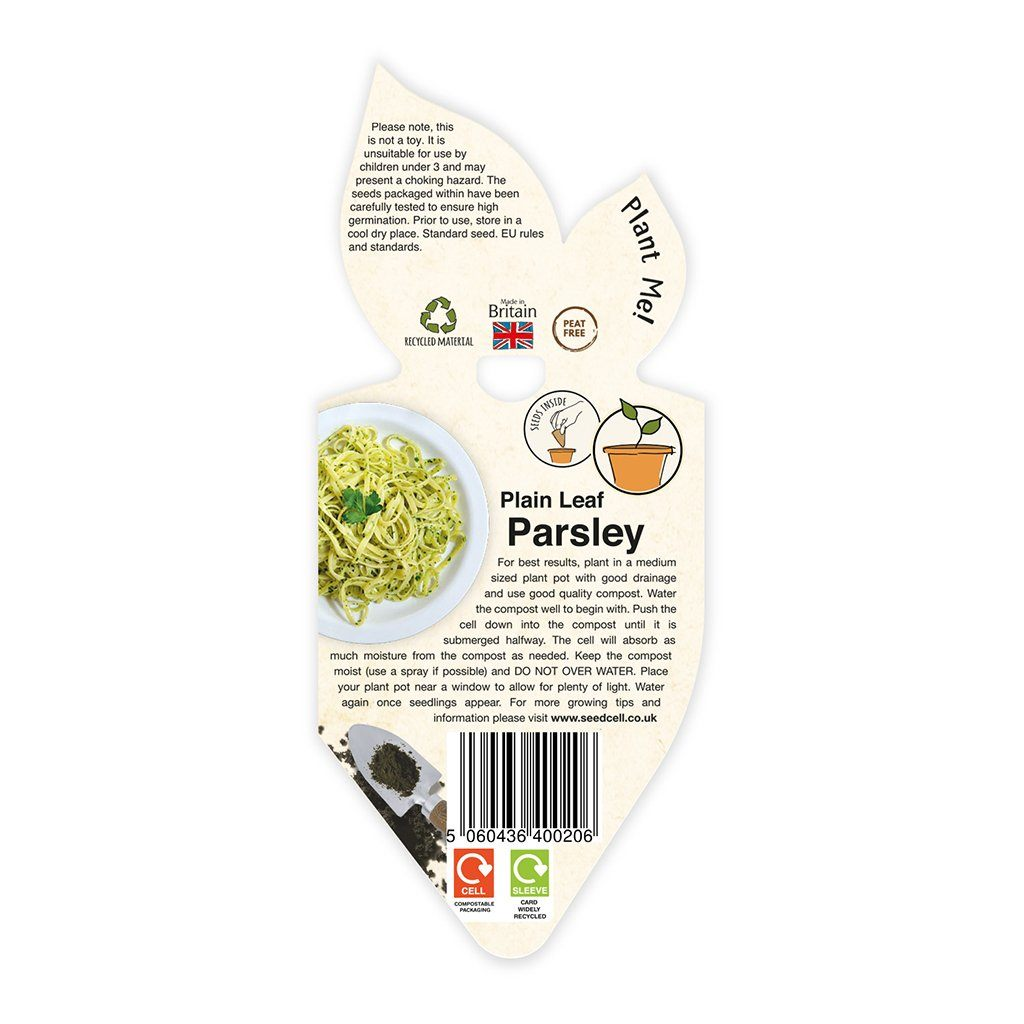 SingleCell Gardening Kits Crops & Co Parsley