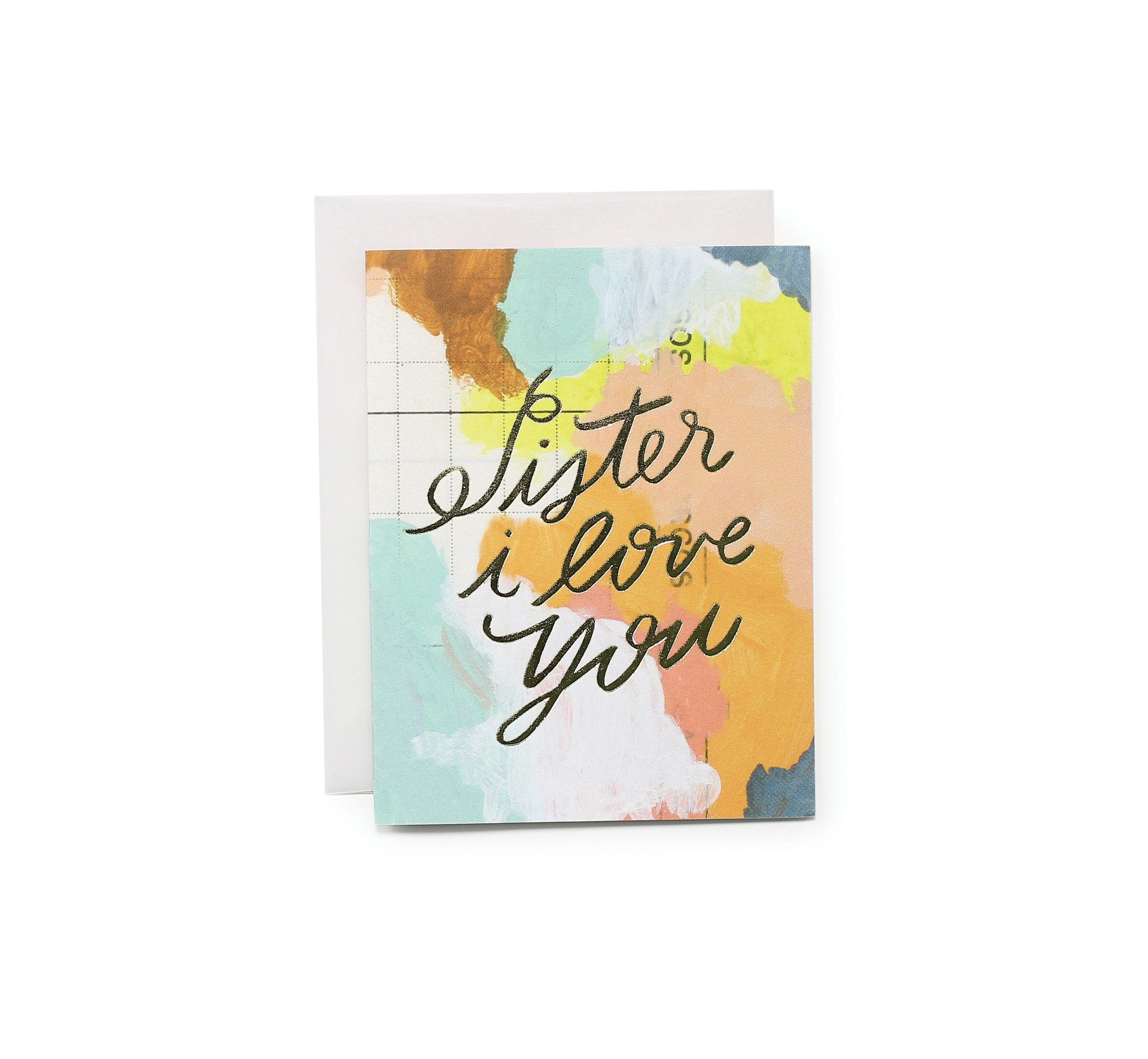 Sister I Love You Card - Generic Greeting Cards - Moglea - Naiise