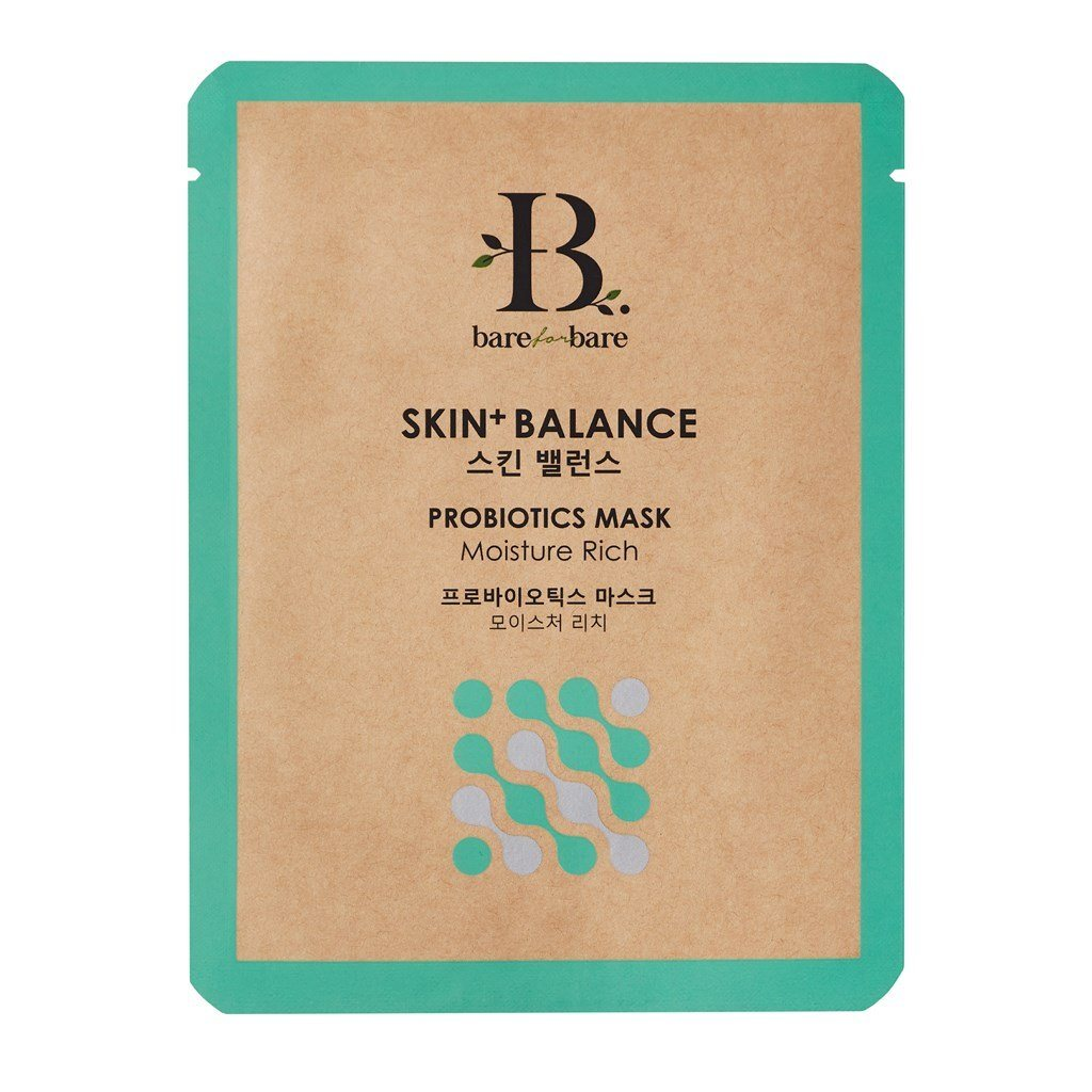 Skin + Balance Probiotics Face Mask (Single Piece) Face Masks Bare for Bare