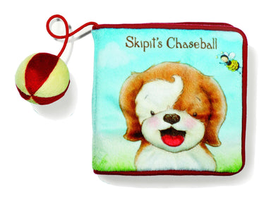 "'Skipit's Chaseball"" Soft book - Children Books - Bunnies By The Bay - Naiise"