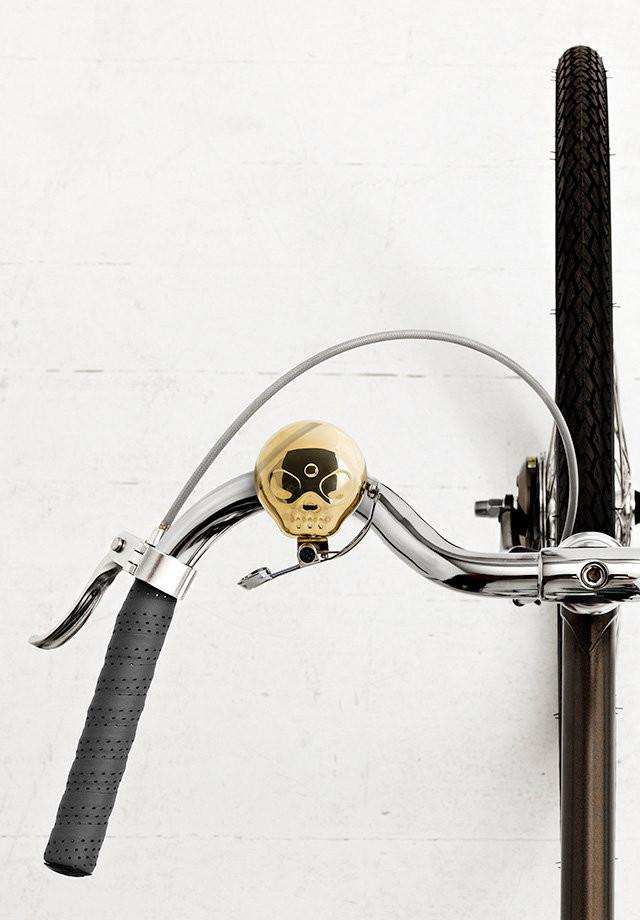 Skull Bell Bicycle Accessories Suck UK