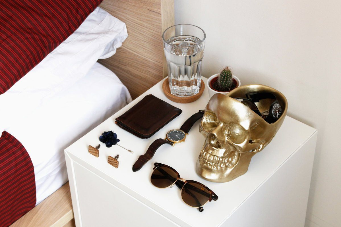 Skull Tidy Jewellery Holders Suck UK