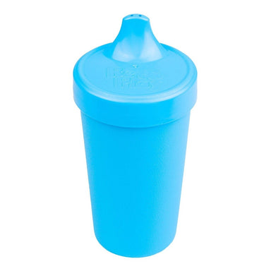 Sky Blue No-Spill Sippy Cup Children Cutlery Re-Play