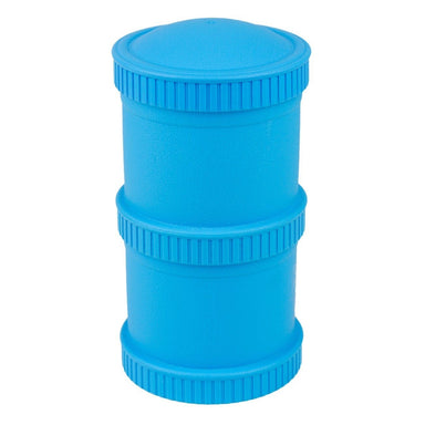 Sky Blue Snack Stack Set Children Cutlery Re-Play