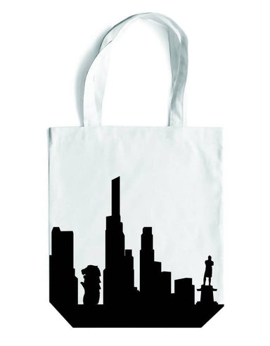 Skyline Canvas Bag - Local Tote Bags - LOVE SG - Naiise