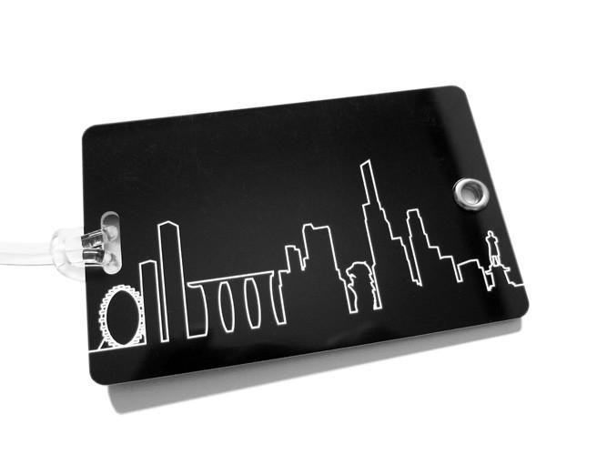 Skyline Luggage Tag Local Luggage Tags LOVE SG
