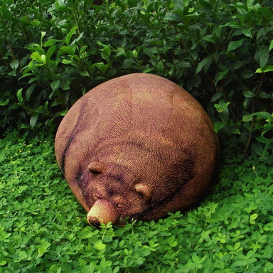Sleeping Grizzly Bear Bean Bag Bean Bags Chic Sin Design