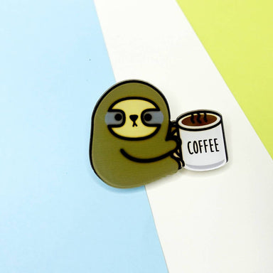 Sloffee Pin Badge - Pins - Artably - Naiise