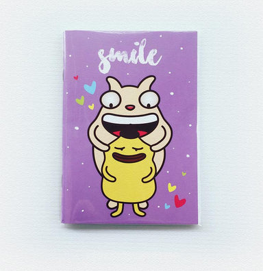 Smile Notebook Notebooks Wackymons
