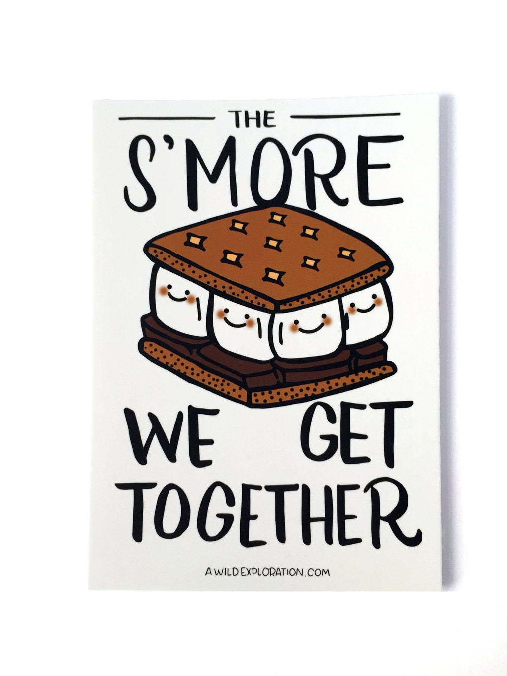 S'more Postcard Christmas Cards A Wild Exploration