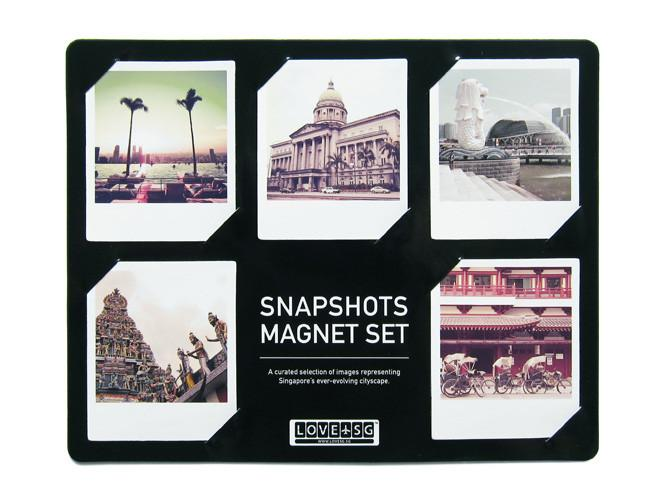 Snapshots Magnet Set Local Magnets LOVE SG