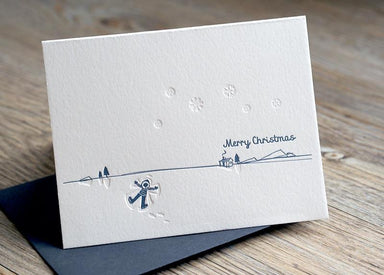 Snow Angel Christmas Card Christmas Cards ditto ditto