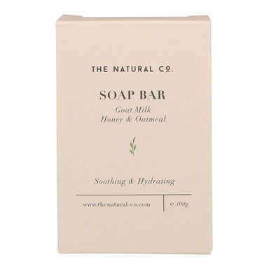 Soap Bar - Goat Milk - Honey & Oatmeal Soaps The Natural Co.
