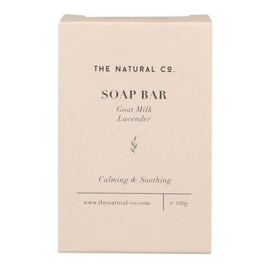 Soap Bar - Goat Milk - Lavender Soaps The Natural Co.