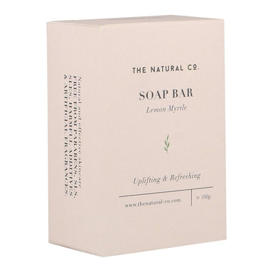 Soap Bar - Vegan - Lemon Myrtle Soaps The Natural Co.