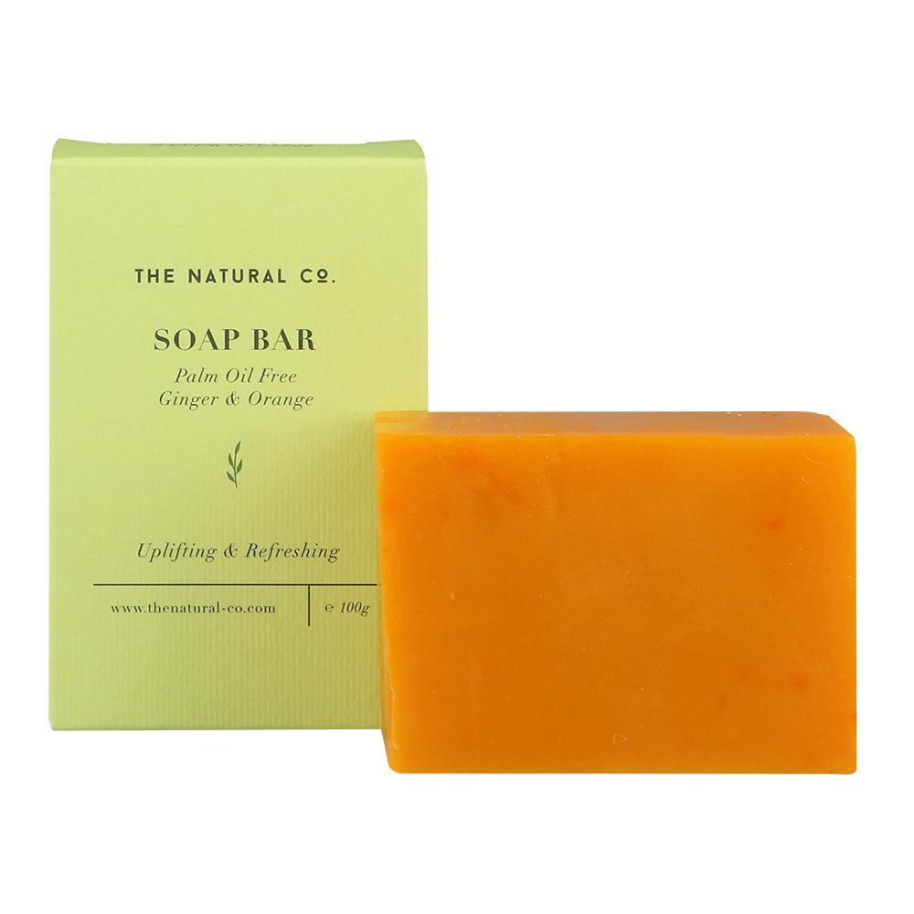 Soap Bar_Vegan (PALM OIL FREE) - GInger & Orange - Soaps - The Natural Co. - Naiise