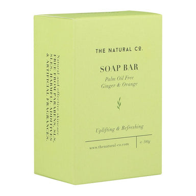 Soap Bar_Vegan (PALM OIL FREE) - GInger & Orange Soaps The Natural Co.