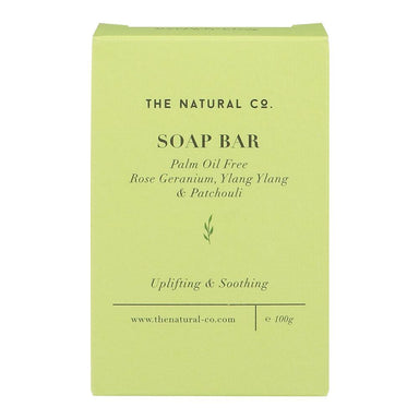 Soap Bar_Vegan (PALM OIL FREE) - Rose Geranium Ylang Ylang & Patchouli - Soaps - The Natural Co. - Naiise