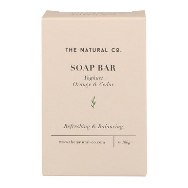 Soap Bar_Yoghurt - Orange & Cedar - Soaps - The Natural Co. - Naiise