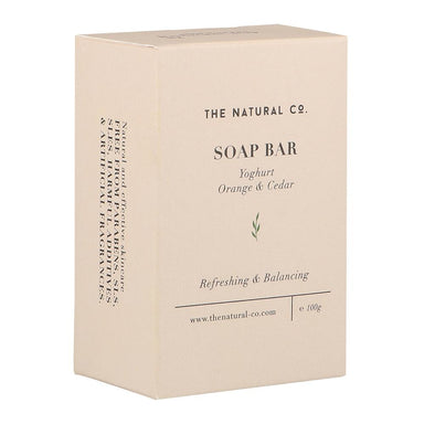 Soap Bar_Yoghurt - Orange & Cedar Soaps The Natural Co.