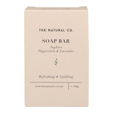 Soap Bar_Yoghurt - Peppermint & Lavender Soaps The Natural Co.