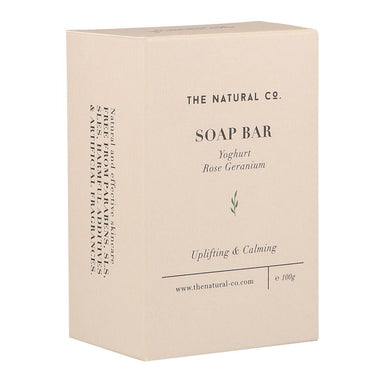 Soap Bar_Yoghurt - Rose Geranium Soaps The Natural Co.