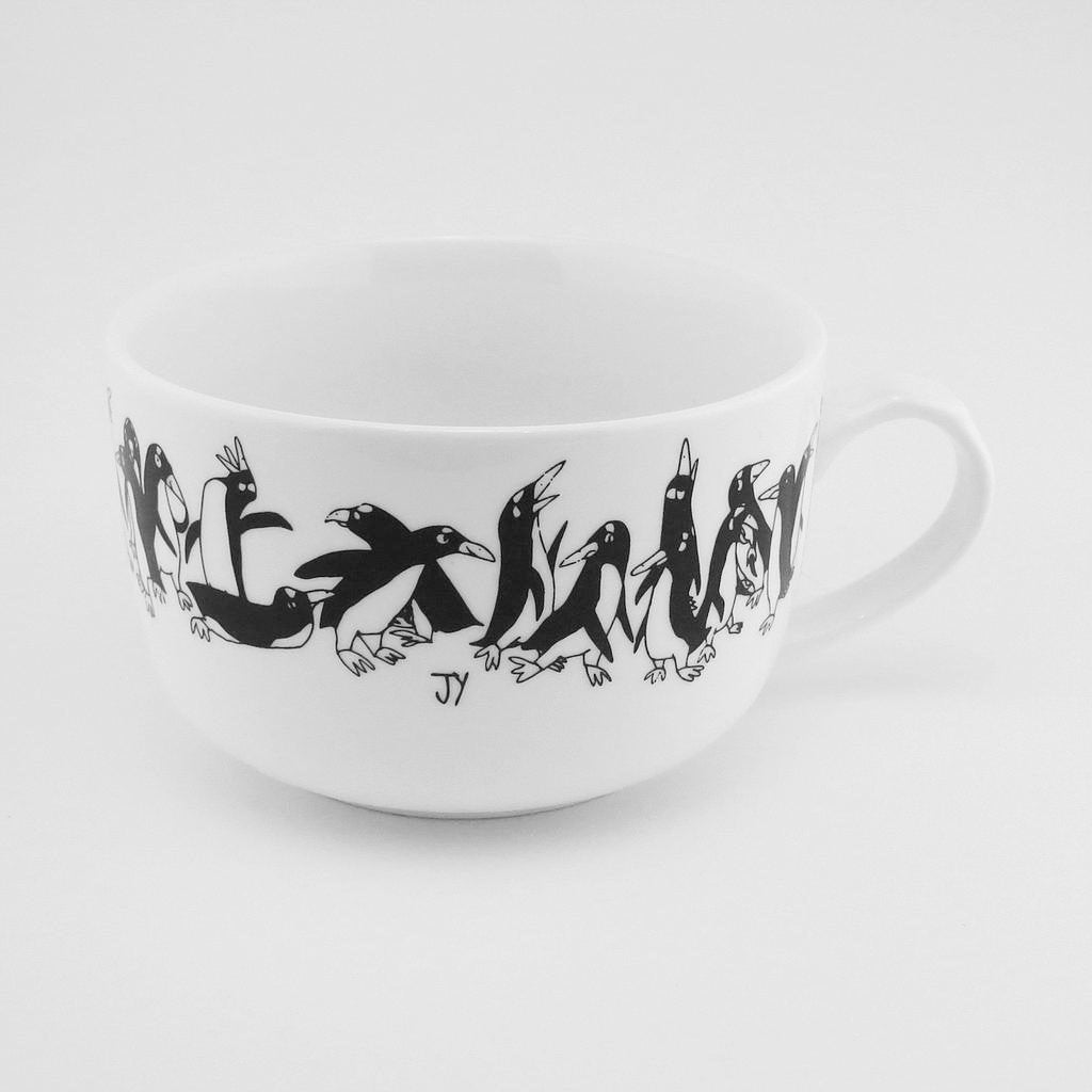 Soup Cup - Penguins - Mugs - The Animal Project - Naiise
