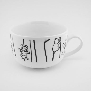 Soup Mug - Koalas on Trees Mugs The Animal Project