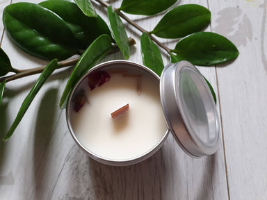Soy Candle Geranium Lemongrass 4 oz Scented Candles Alletsoap