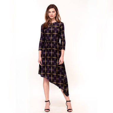 Spot Plaid Print Dress (Pre-Order) - Dresses - Hide The Label - Naiise