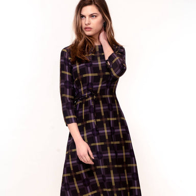 Spot Plaid Print Dress Dresses Hide The Label
