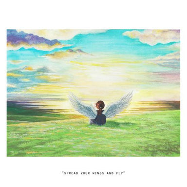 Spread Your Wings And Fly Mini Art Print - Prints - N'so Gallery - Naiise