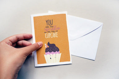 Sprinkles and Cupcake Card - Birthday Cards - TispyTopsy - Naiise