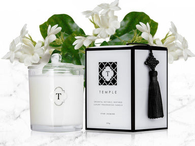 Star Jasmine Candle - Scented Candles - Temple Candles - Naiise