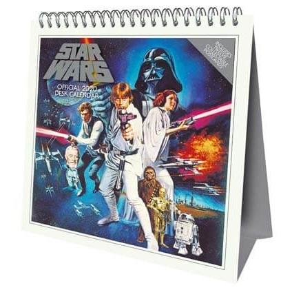 Star Wars 2020 Desk Easel Calendar Calendars Danilo