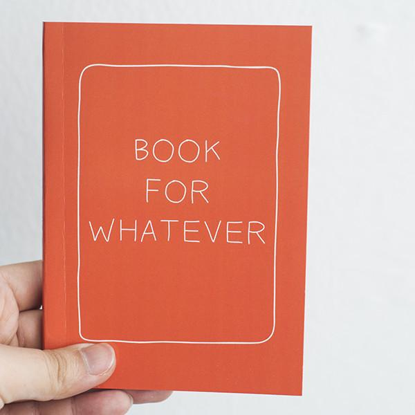 Statement Notebook - Orange - Notebooks - Notbook Notbuk - Naiise
