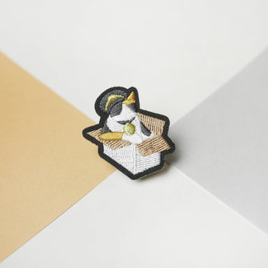 Station Master Calico Cat Pin Pins Purr Purr Papa