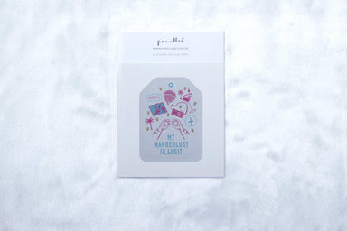 Sticker - Wanderlust - Stickers - pencilled - Naiise