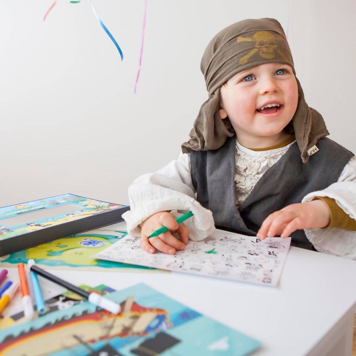 Tiger Tribe Sticker World - Pirate Island - Kids Activity Kits - The Children's Showcase - Naiise