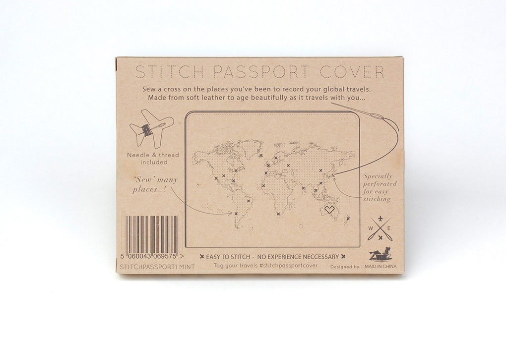Stitch Passport Cover Mint Passport Holders Chasing Threads