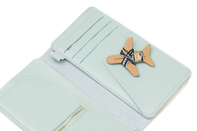 Stitch Travel Wallet Mint Women's Wallets Chasing Threads