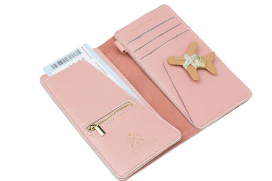 Stitch Travel Wallet Pink - Women's Wallets - Chasing Threads - Naiise