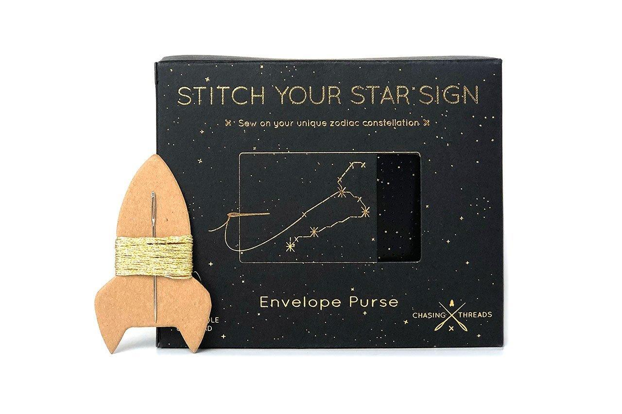 Stitch Your Star Sign Purse Pouches Chasing Threads