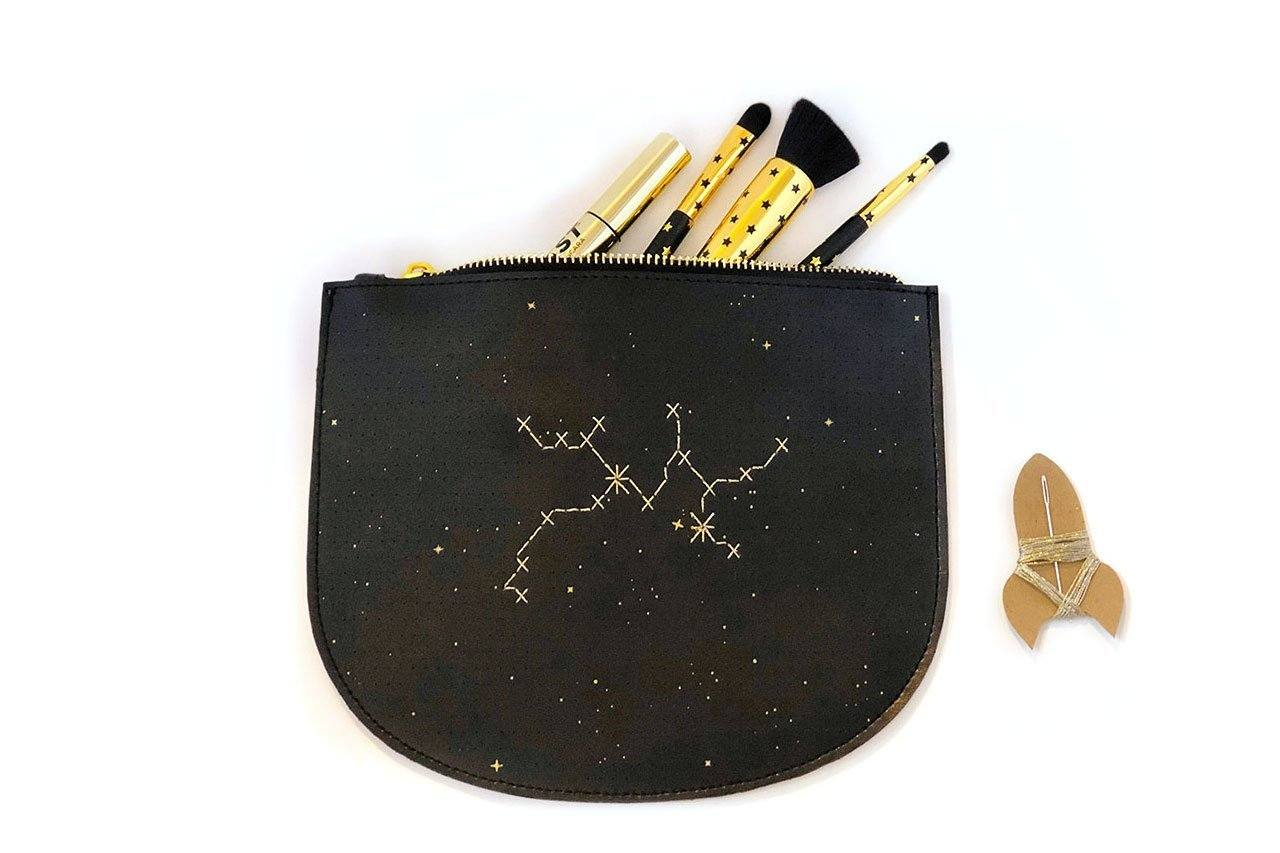Stitch Your Star Sign Zip Pouch Pouches Chasing Threads