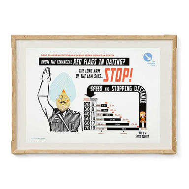 Straits Settlements Vintage Posters - STOP! - Prints - The Great Indoors - Naiise