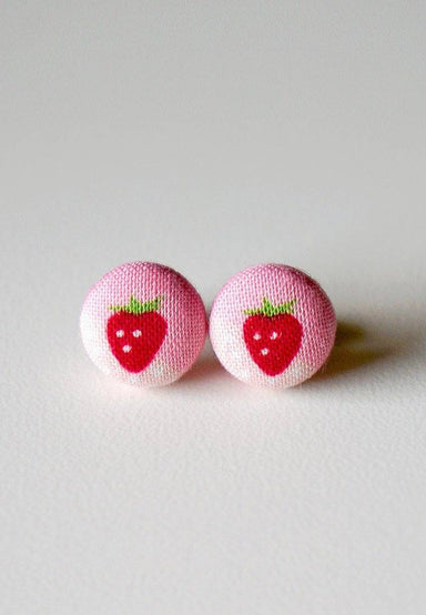 Strawberry Cake Stud Earrings - Earrings - Paperdaise Accessories - Naiise