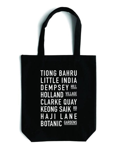 Streets Canvas Bag - Local Tote Bags - LOVE SG - Naiise
