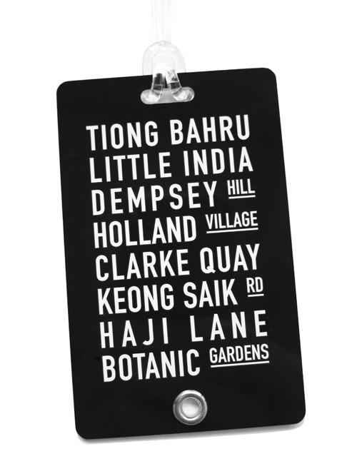 Streets Luggage Tag Local Luggage Tags LOVE SG